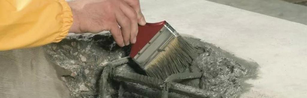 ремонт скола ж/б плиты